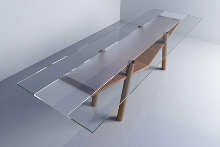 Scrivanie e tavoli su misura