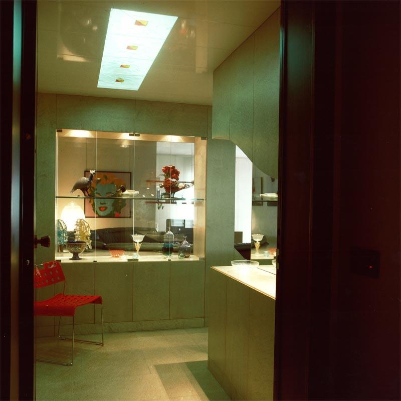 Interni casa anni 39 80 for Dal pozzo arredamenti